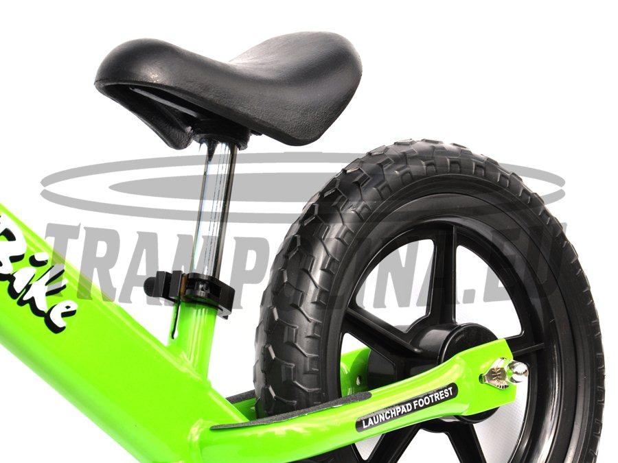 Rowerek biegowy Euro zielony